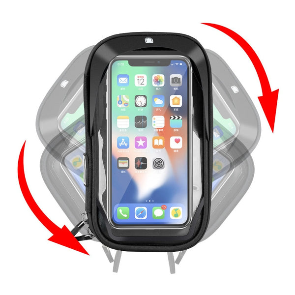 Waterproof Bicycle & Motorcycle Mobile Phone Holder - YouTech.Me