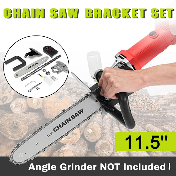 Chainsaw Bracket Set For Angle Grinder - YouTech.Me