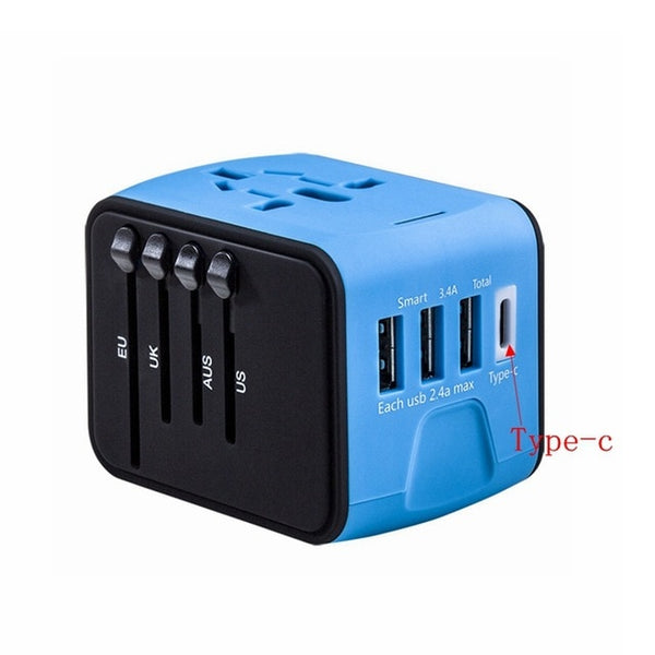 All-In-One Universal Travel Adapter - YouTech.Me