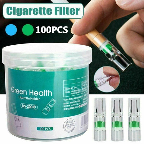 Disposable Anti-Smoking Quit Addiction Filters (100pcs) - YouTech.Me