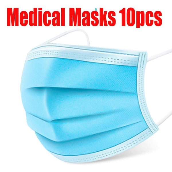 3 ply Disposable Certified Medical Face-masks - YouTech.Me