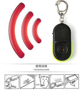 Wireless 10m Anti-Lost Whistle-Response Keychain - YouTech.Me