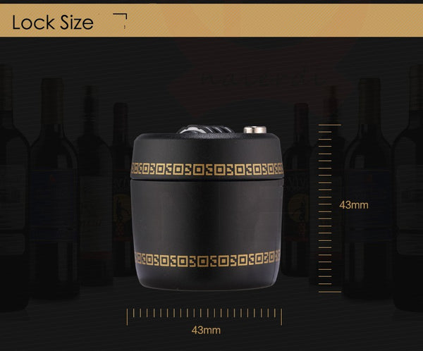 Wine Bottle Password Lock - YouTech.Me