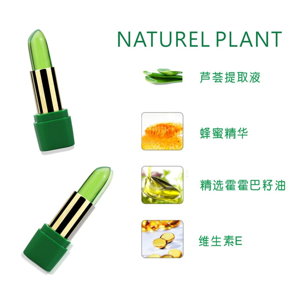 Natural Aloe Vera Temperature Color-Changing Lip Balm (3 pieces) - YouTech.Me