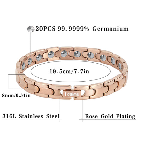 Bio Health Care Therapy Bracelets & Bangles (Full 99.99% Germanium of Korea / Japan)