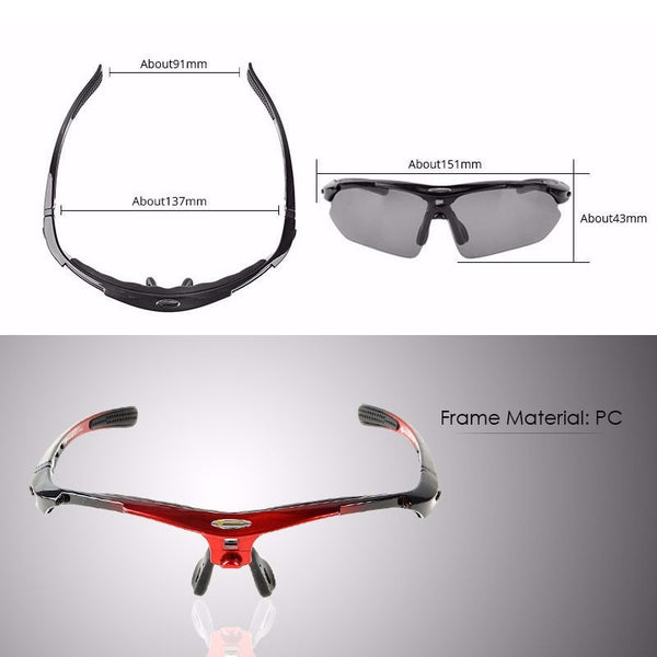 5 Cycling & Sports Sunglass Frames - YouTech.Me