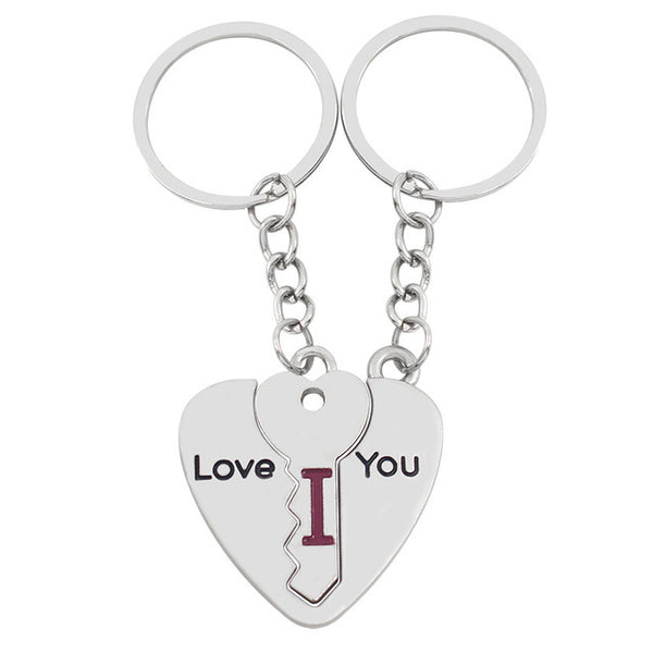 2 Pcs/Set Lovers Keychain Set - YouTech.Me