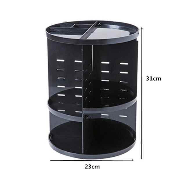 360 Rotating Make-up Organizer - YouTech.Me