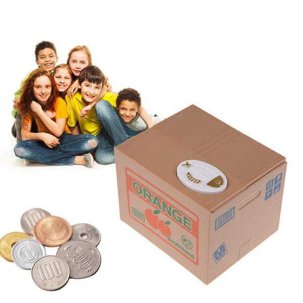 Digital Piggy Bank - Safe Deposit Box (for You or Your Kids) - YouTech.Me