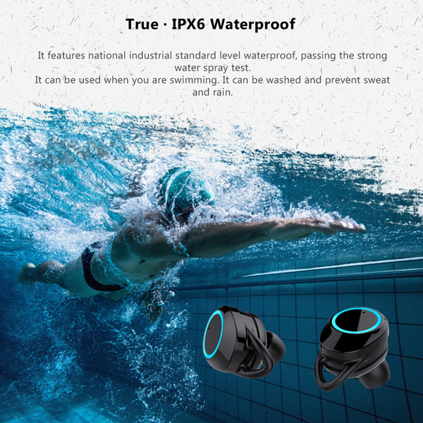 Waterproof Sport Bluetooth Earphones - YouTech.Me