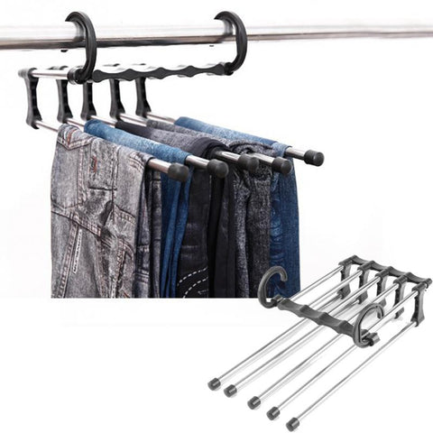 Multi-functional Adjustable Closet Organizer Rack - YouTech.Me