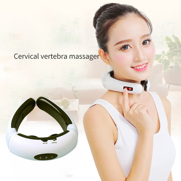Electric Pulse Back and Neck Massager - YouTech.Me