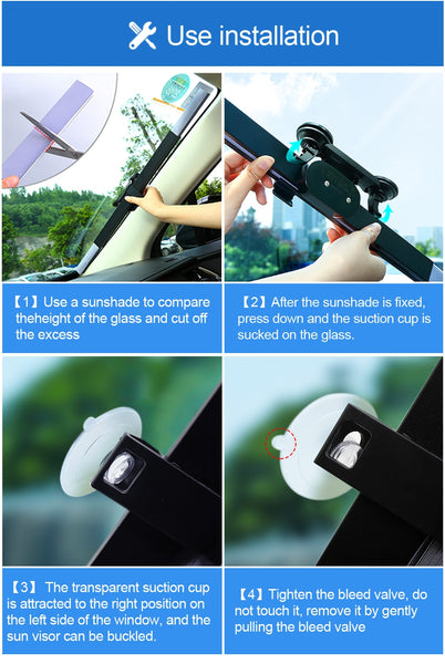 Car Retractable Windshield (Sunshade) Cover - YouTech.Me