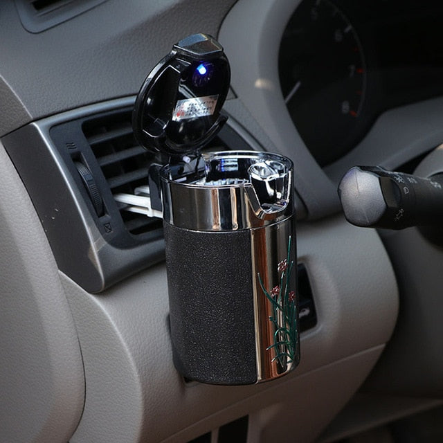 Portable LED Universal Car/Home Ashtray - YouTech.Me