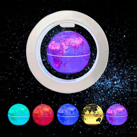 LED Floating Globe Lamp - YouTech.Me