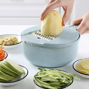 9 IN 1 Multi-function Slicer Cutter Chopper and Grater - YouTech.Me