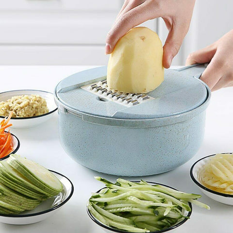 9 IN 1 Multi-function Slicer Cutter Chopper and Grater