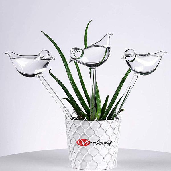 Self-Watering Plant Glass Bulbs (3 pieces) - YouTech.Me