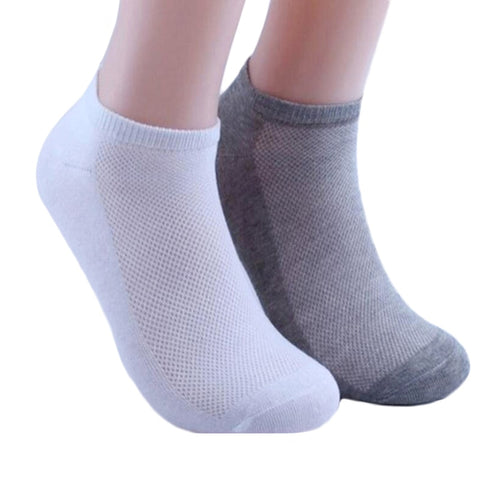 5Pairs  Socks Ankle  Thin Boat Socks Female Solid Casual 3d  Art Hot Sox Chaussettes