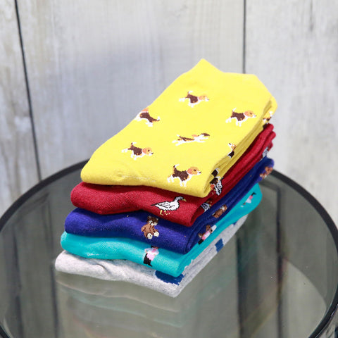 New In Tube Sock Dog Animal Cartoon Cute Soft Socks Fashion Cotton