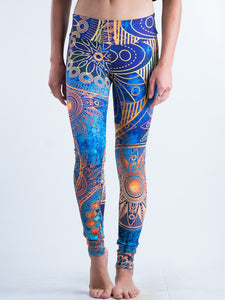 Boho-chic Styles Line Art Design Leggings