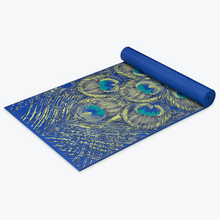 Load image into Gallery viewer, Awesome Sapphire Feather Design Yoga Mats