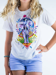 Elephant Bagua Design Kids Tee