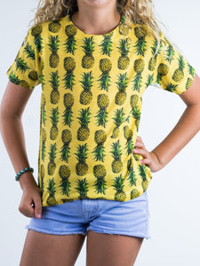 Pineapple Design Kids Tee