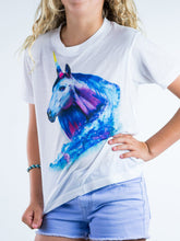 Load image into Gallery viewer, Magnificent Unicorn Design Kids Tee