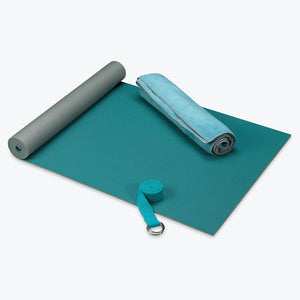Perfect Beginner 3mm Mat + Microfiber Towel & Strap