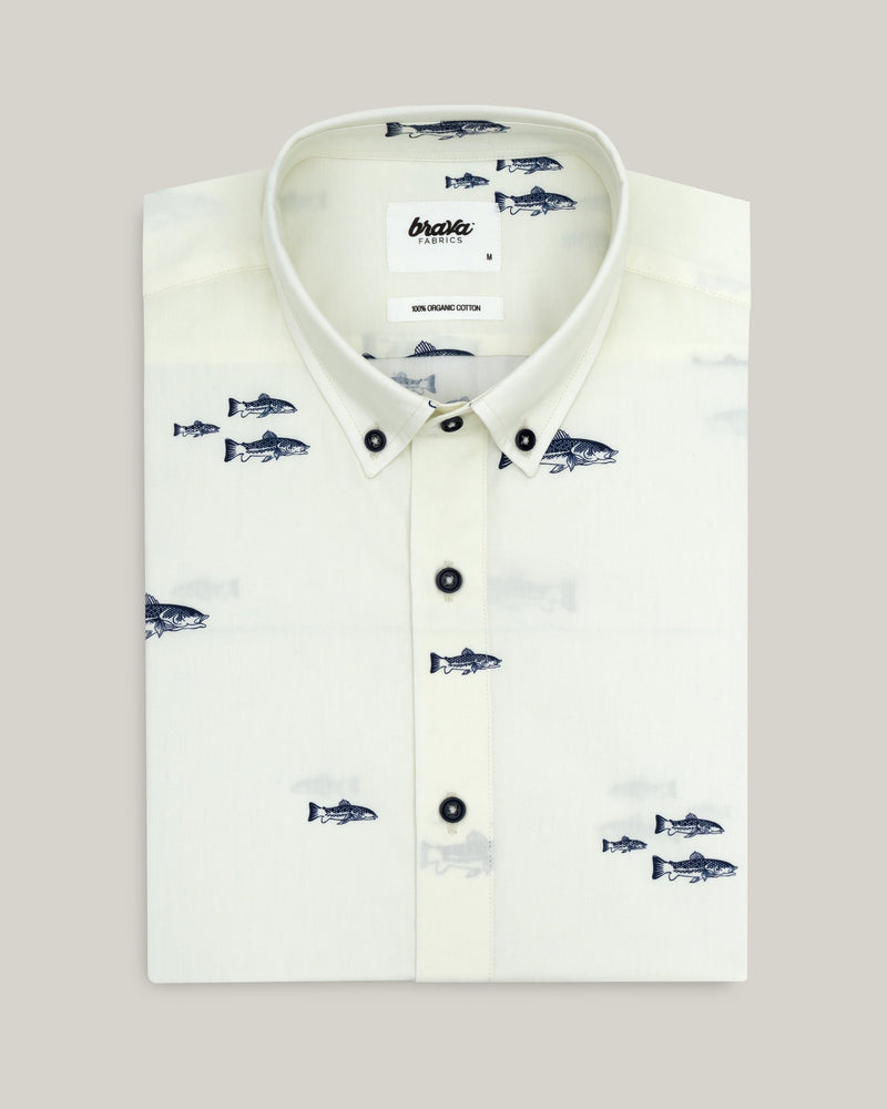Trout Printed Shirt