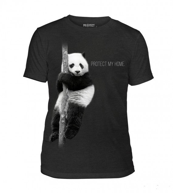 PANDA PROTECT MY HOME UNISEX BLACK