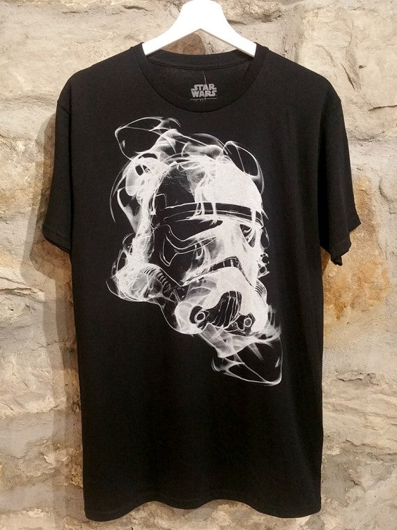 MENS STORM TROOPER SMOKEY HELMET T SHIRT