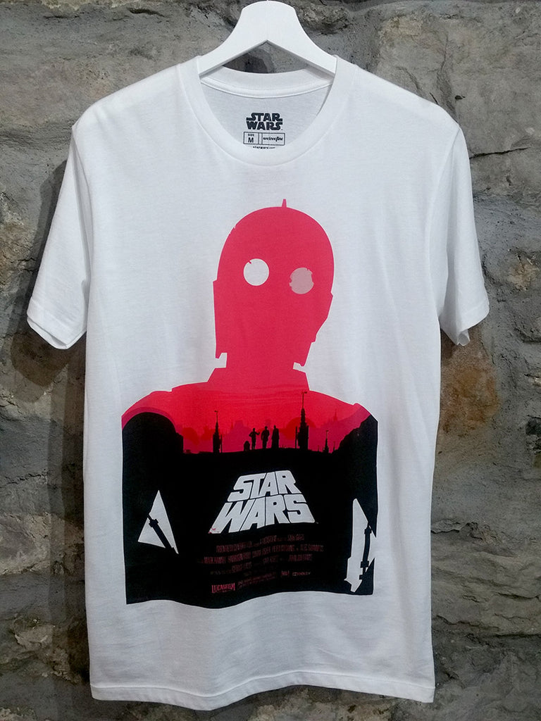 OLLY MOSS A NEW HOPE POSTER T-SHIRT