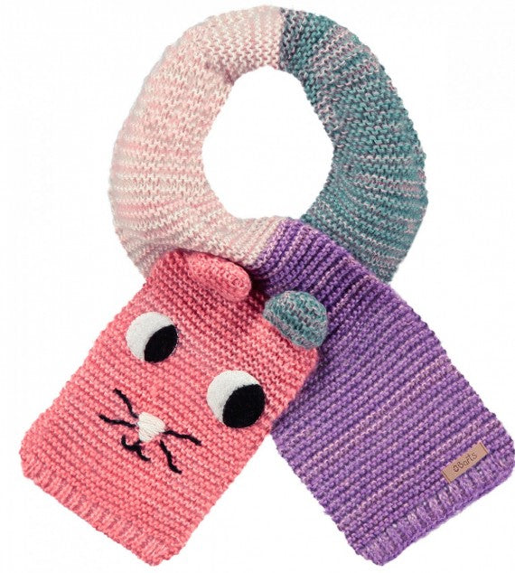 KIDS CUDDLE SCARF PINK