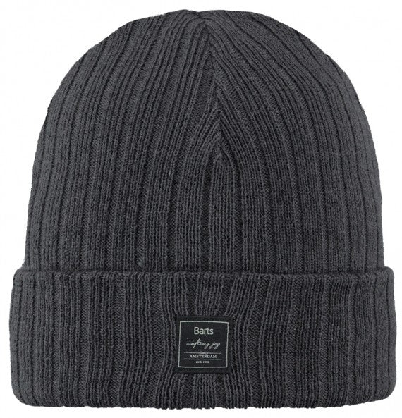 PARKER BEANIE CHARCOAL.