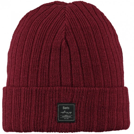 PARKER BEANIE BURNT RED.
