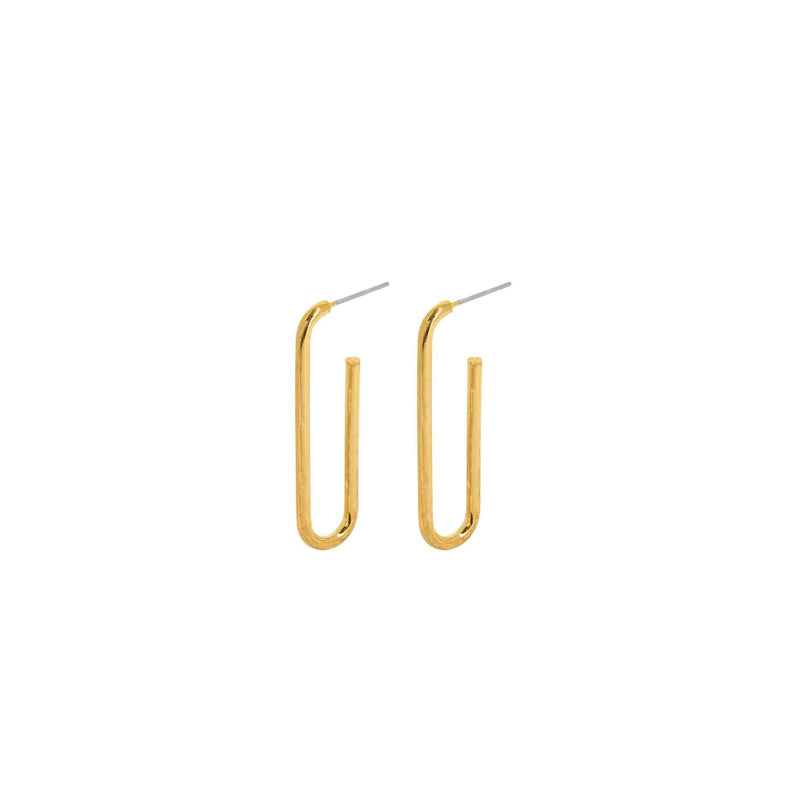 Smooth Line Earring