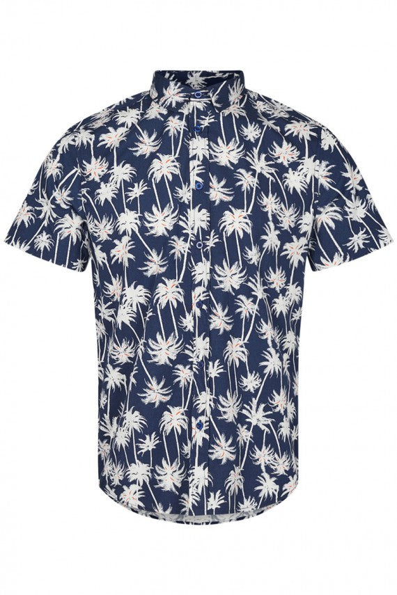 EDGE PALMS SHIRT TOTAL ECLIPSE