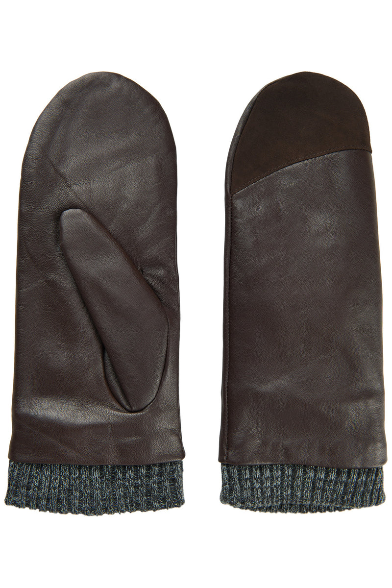 Numorna Leather Mittens