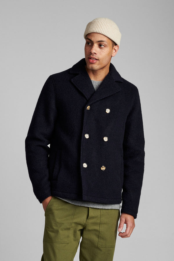 Akskagen Boiled Wool Jacket