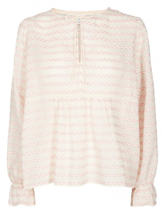 CORINNA BLOUSE H.CORAL