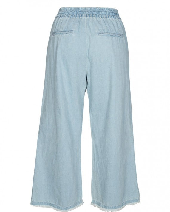 CHASITY CR PANTS L.D.BLUE