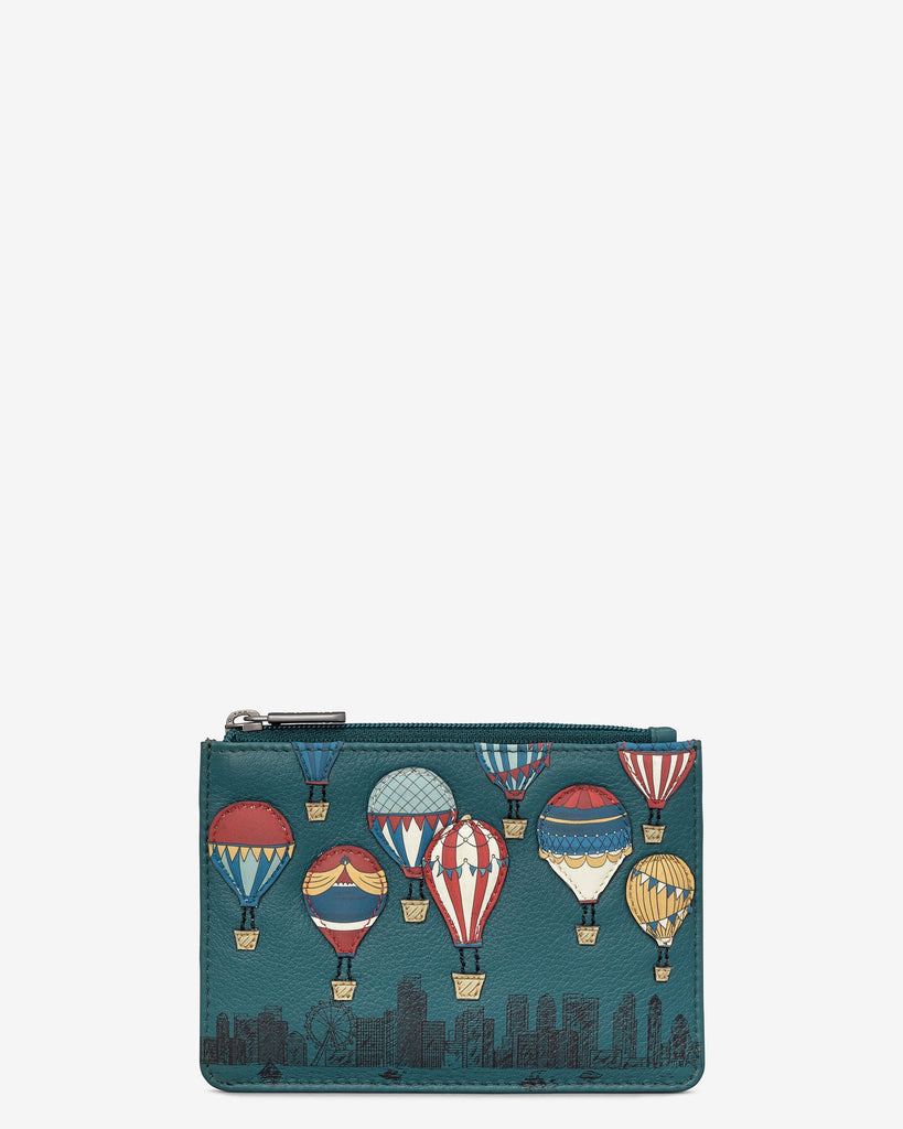 Clouds Zip top Purse