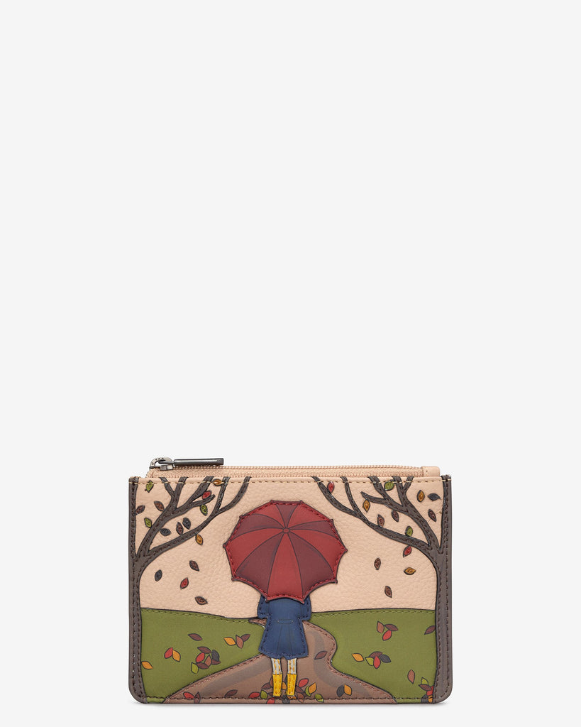 Autumn Girl Zip top Purse