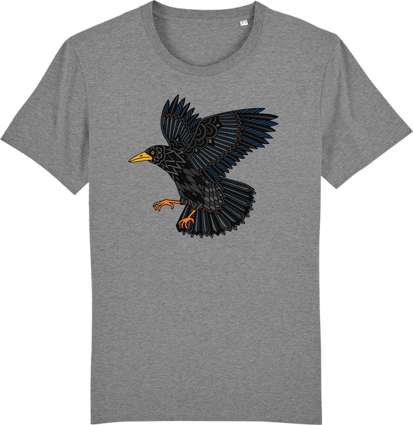 Mens Blackbird Organic T-Shirt