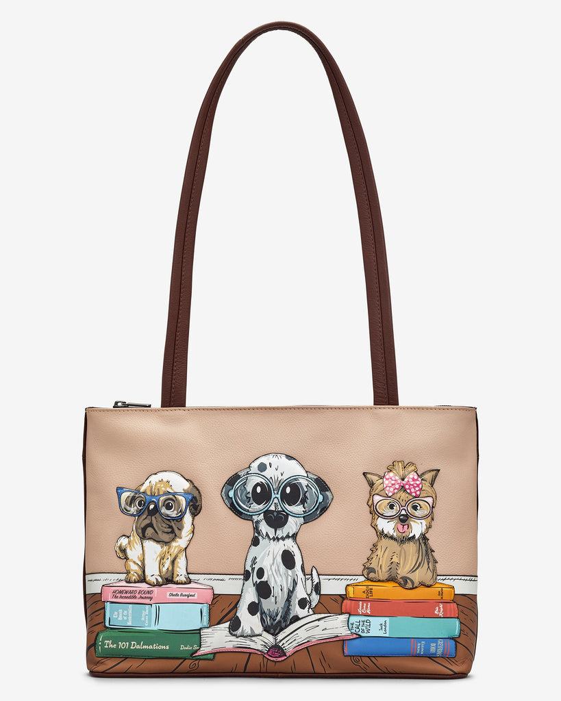 Bookhound Shoulder Bag