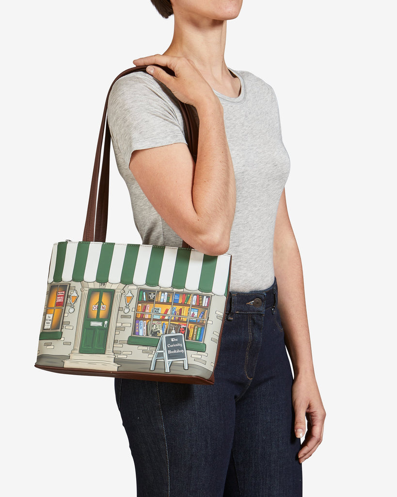 Curiosity Bookshop Shoulder Bag