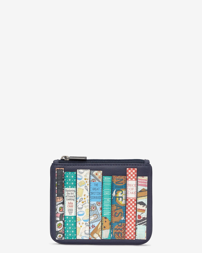 Cook Bookworm Zip top Purse