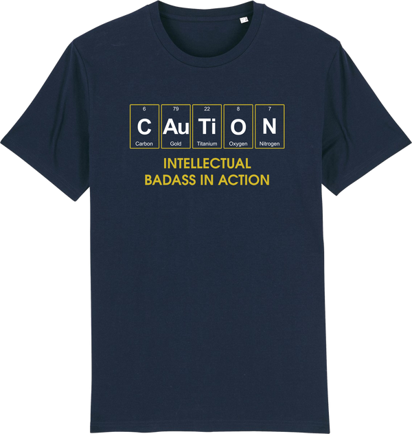 Mens Caution Organic T-Shirt - ONLINE EXCLUSIVE